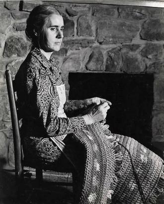 Rug maker, 1939