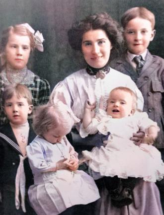 John and Rose Doudell Family