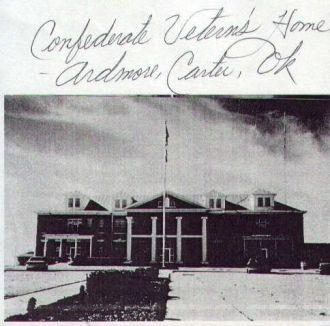 Confederate Home, Ardmore, OK