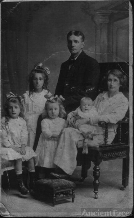 Kathleen Patricia (Armstrong) Rawlings family