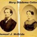 Samuel J. McBride & Mary Diadema Cotton