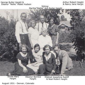 Haight family, 1931