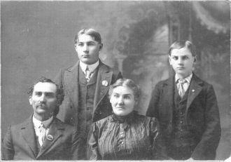 Hancock Family 1895