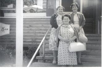 Florence, Elizabeth, & Jesse Donahue, 1964