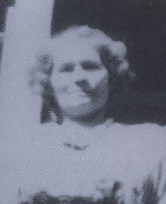 A photo of Clara (Bambach) Schauer