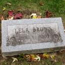 Lela Brown Gravesite