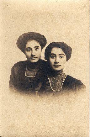 Sisters:  Opal and Hazel Keim