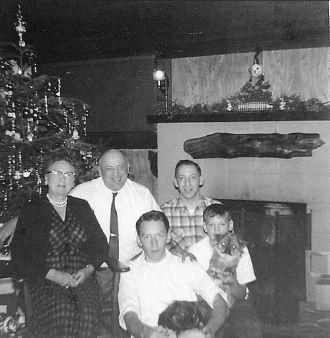 Christmas in Alamo 1958