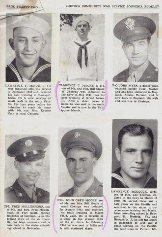 ted stafford's Army Book Kansas - M through N