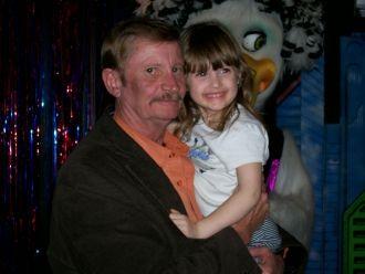 Bruce Clark Hodges & child