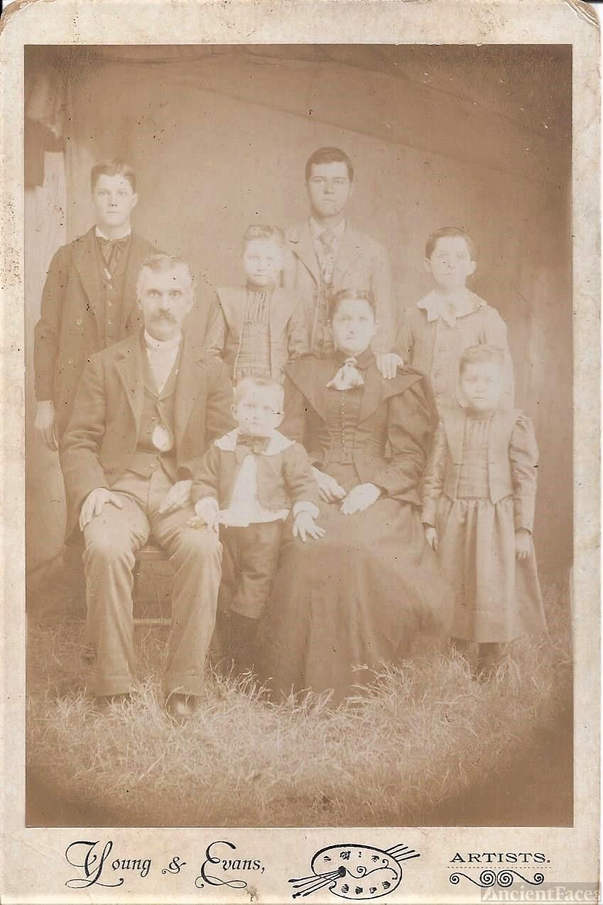 Mamie Swaim and family