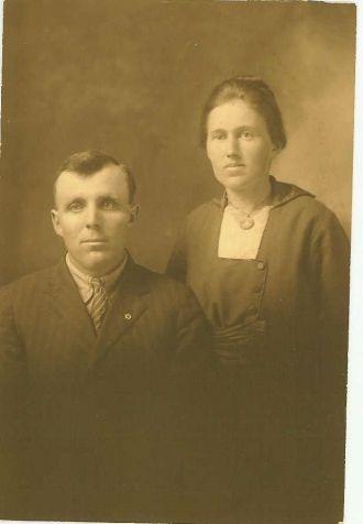 Elsie Carr & John I. Tyree, Christmas, 1918