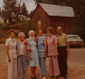Gertrude (Montgomery) (Branson) Ethridge & Family