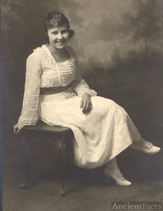Vera Thamer, Michigan 1921