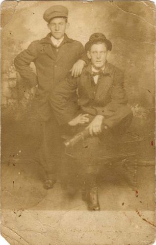 Fred & Will Ross, Wisconsin 1912