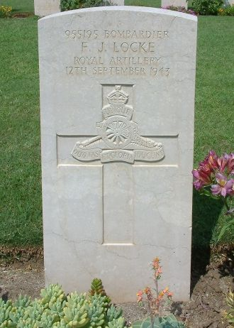 Francis James Locke gravesite