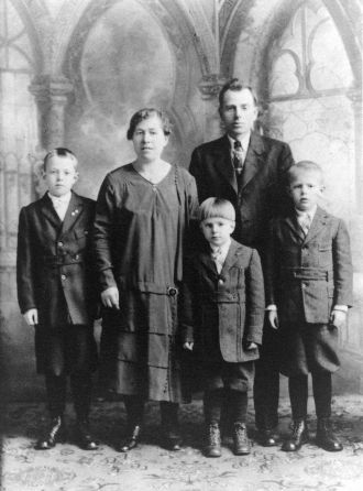 Anthony Kalinowski's family