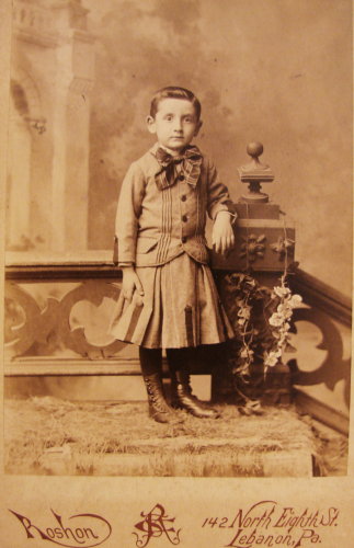 1891 Young Boy Portrait