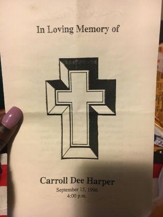 Carroll Dee Harper