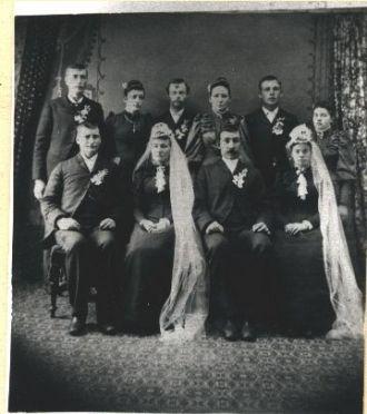 John Kirsch & Anna Schlick, 1892