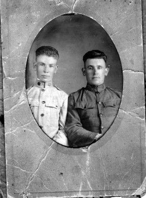 John Lewis Pelfrey Army 1923
