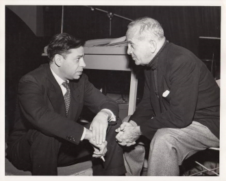 Al Jolson and Oscar Levant