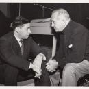 Al Jolson and Oscar Levant