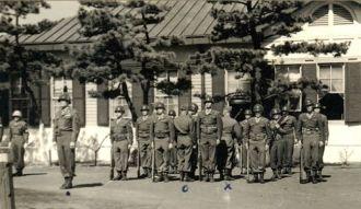 Photo of Sgt. Rose's platoon