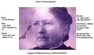 Nancy A Dickerson