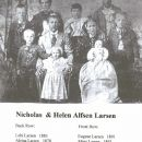 Nicholas Larsen and Helen Alfson Family