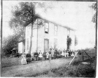 Gutridge family reunion, Ohio
