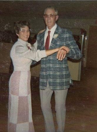 Elmer & Norma Jean (Roos) Dettmer, 1974