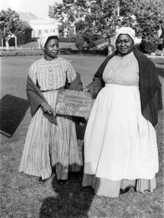 Hattie McDaniel and Butterfly McQueen