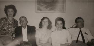 Stawnychka family gathering. Photo taken in Hamilton ON in 1963.