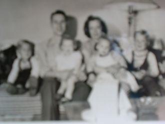 Robert McBride and family