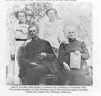 A photo of Mary Elsie Badley