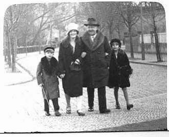 Albert Nicolaus Family, 1928 Germany