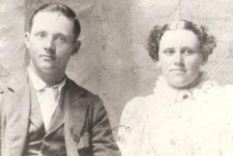 William Elmer & Myrtle May Lovell Lane