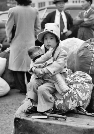 Unknown Japanese-American Girl