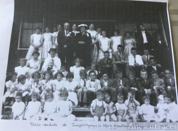 Joseph and Anne Marie Desjardins Family