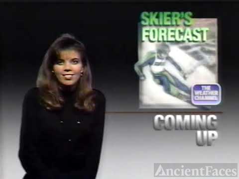 Jeanetta Jones on The Weather Channel (1991)