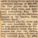 Kay Willard's Tavern and Robert Hansen Drug store. Searching for information on these business !