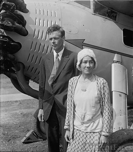Lindbergh & wife