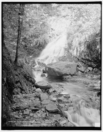 Veil Falls, Ossipee Mount Park, Lake Winnipesaukee, N.H.