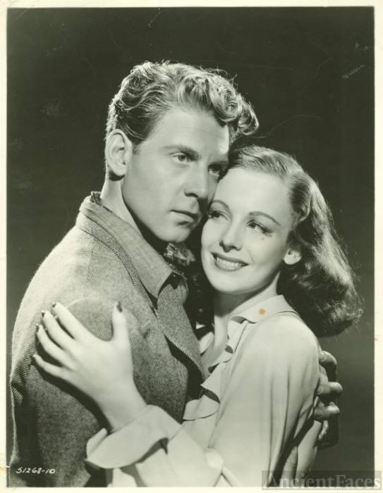 Jean-Pierre Aumont and Signe Hasso