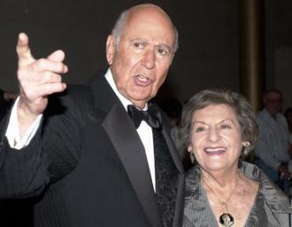 Estelle and Carl Reiner