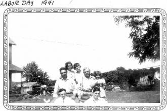Charlie, Ida, Delores, & Family