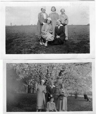 Girls in DC in 1934-cousin Greta Shields