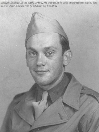 Joseph Sositko in the military
