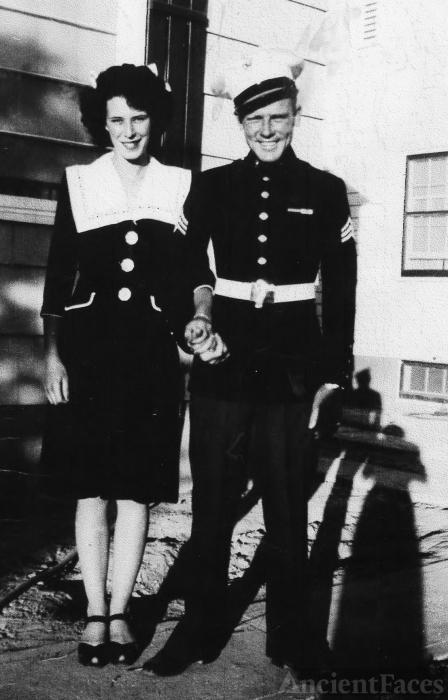 Eleanor & Claude Whitehead, 1945